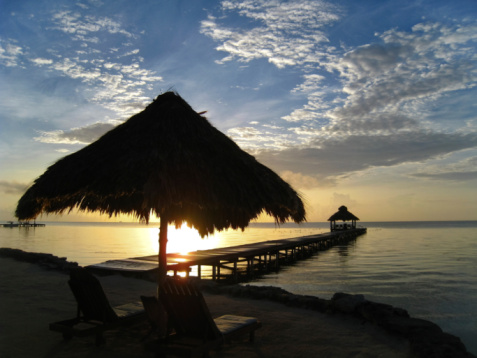 Ambergris Caye Resort Pier Marina