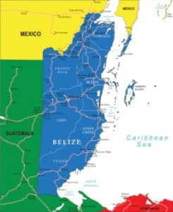 belize san pedro map
