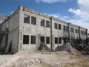 building d underway