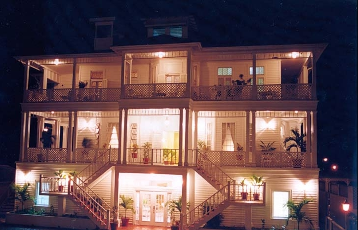 The Great House at Night