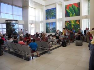 Ambergris Caye Tropic Air Terminal April 2011