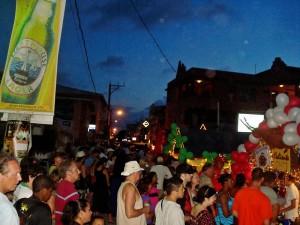 Tourists Enjoy the San Pedro Lobster Fest