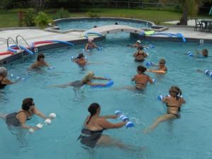 Aqua Fitness in Shallow San Pedro Club Pool