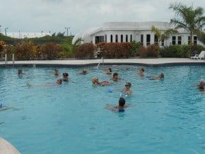 Aqua Fitness in the Deep Pool