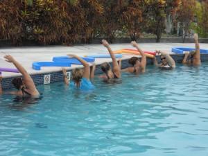 Aqua Fitness - Pool Side Stretches