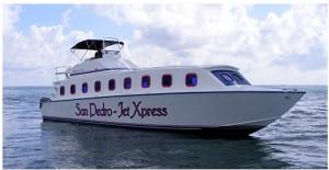 San Pedro Water Jet Express Boat
