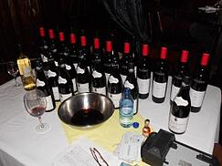 Wine Table Samplings