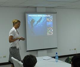 Kelly German Describes Belize's Wonders