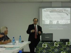 Maurice Glazer Speaks of Tax Planning