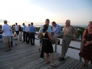 Conference Rooftop Cocktail Party