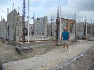 Jim Knuff at Baymen Garden's Building A