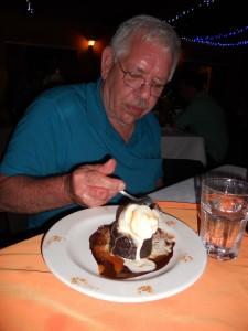 JIm Taste Tests a Molten Chocolate Cake