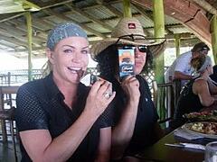 San Pedro Sun - Gene and Shannon in Belize