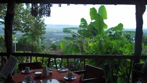 View of San Ignacio from Cahal Pech Resort