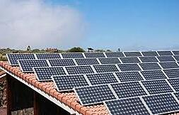 Solar energy is one option