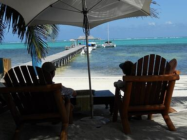 Retirees Enjoy Ambergris Caye's Caribbean Sea View