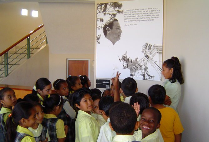 Students Learn About George Price