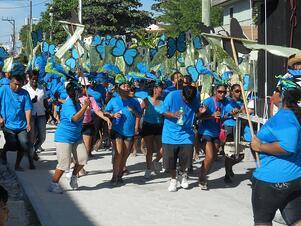 ABC Preschool's Blue Morpho Butterfly Team