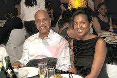 Prime Minister Barrow and his Wife - Ambergris Today