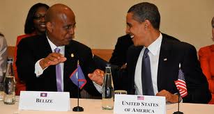 Prime Minister Barrow and President Obama