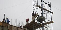 Bldg A 3rd Floor Scaffolding