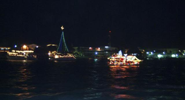 Christmas Boats in Years Past