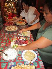 Christmas Wine de Vine Spread