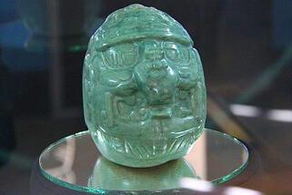 Ambergris Today - Mayan Jade Head