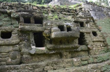 Jaguar Temple at Lamanai
