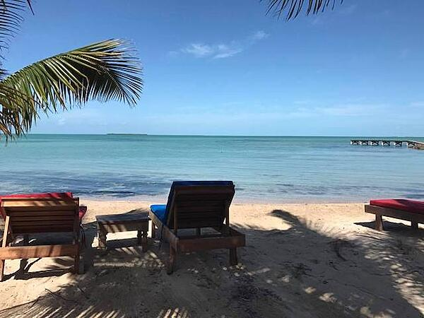 View from Secret Paradise Beach Bar