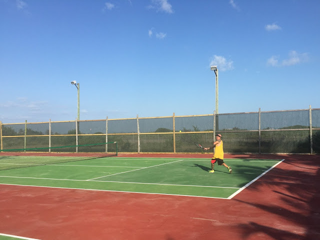 Tennis On Ambergris Caye