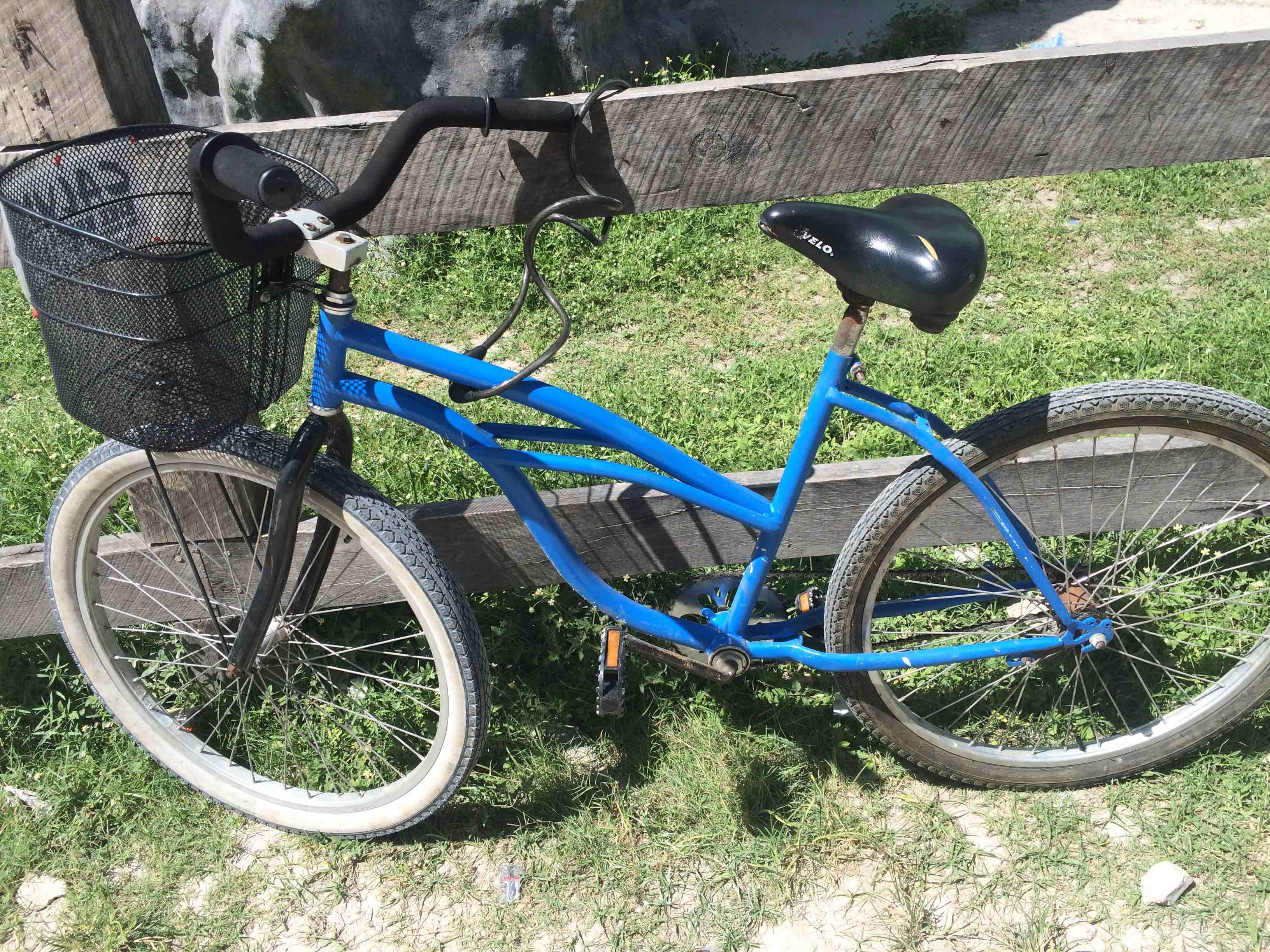 BikingOnAmbergrisCaye