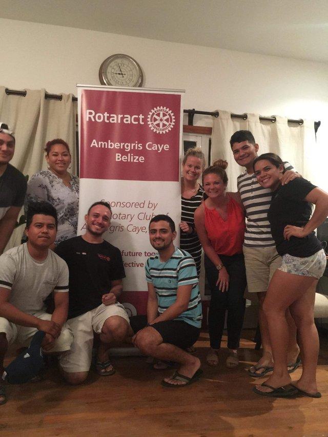 Rotaract club  meeting