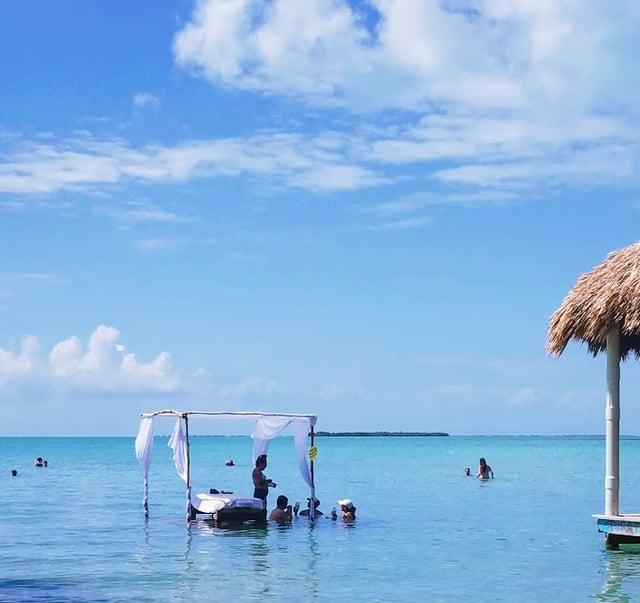 Water massages at Secret Beach