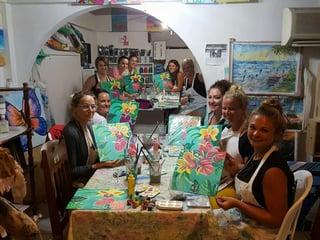 Paint Night at Melody's Art Studio