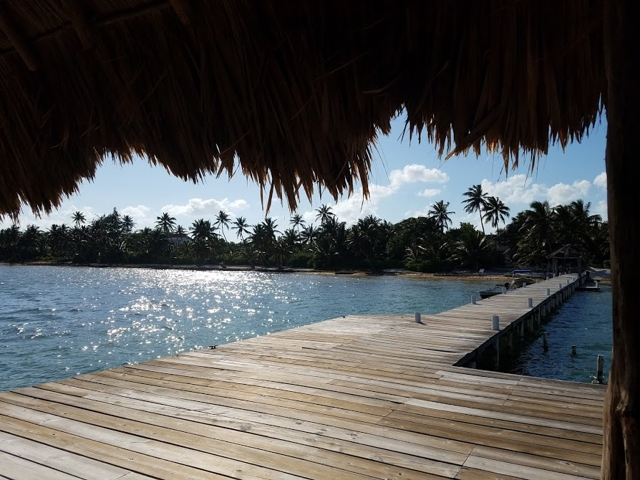 A Gorgeous Sunny Day in Ambergris Caye