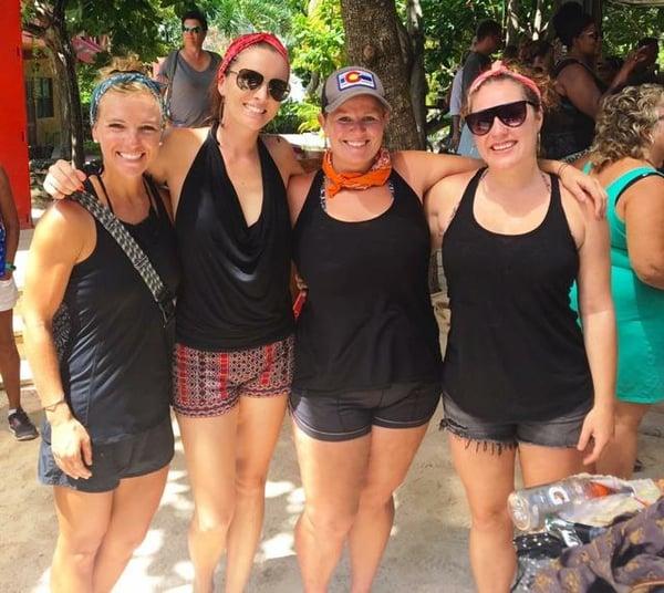 Friends in Belize