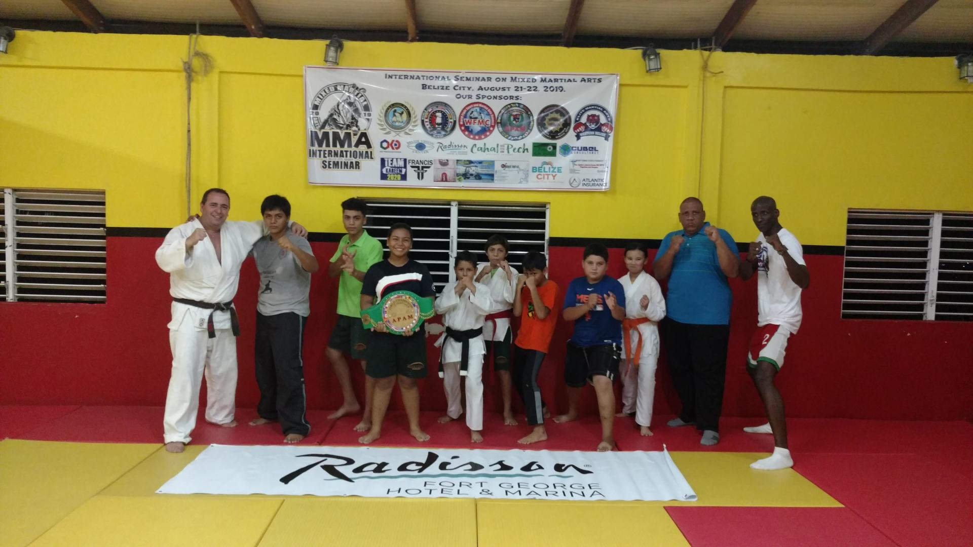 International Seminar on Mixed Martial Arts on August 2019, taught by Master Jorge Zeki from Argentina