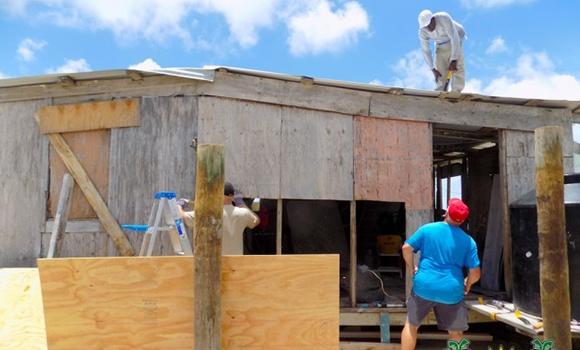 Helping Rebuild