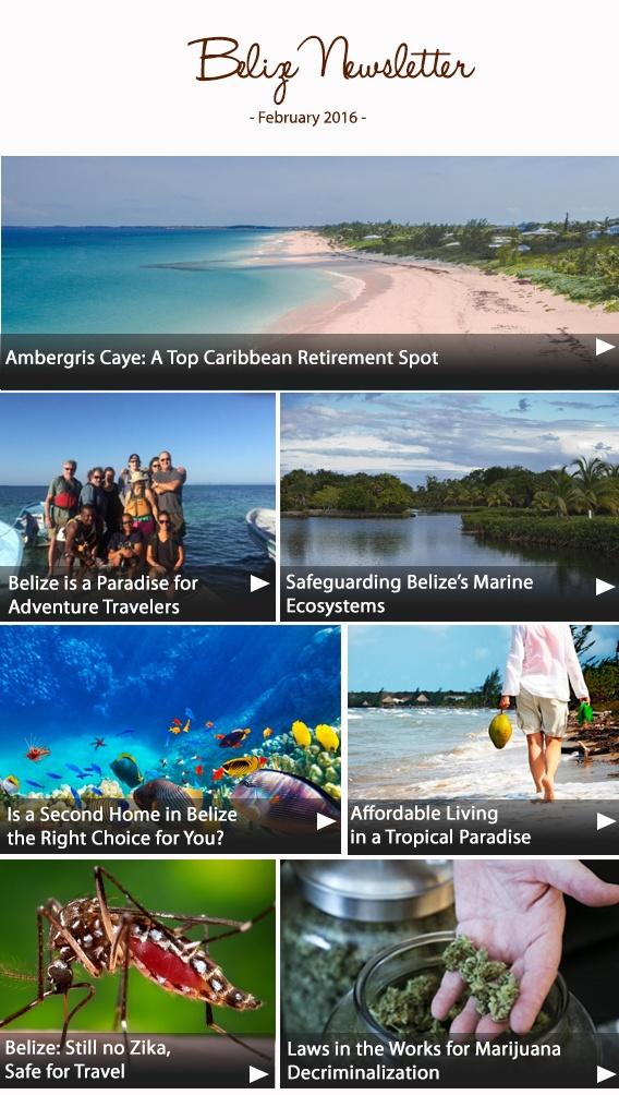 Belize Newsletter February 2016