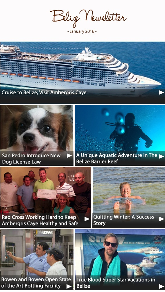 Belize Newsletter January