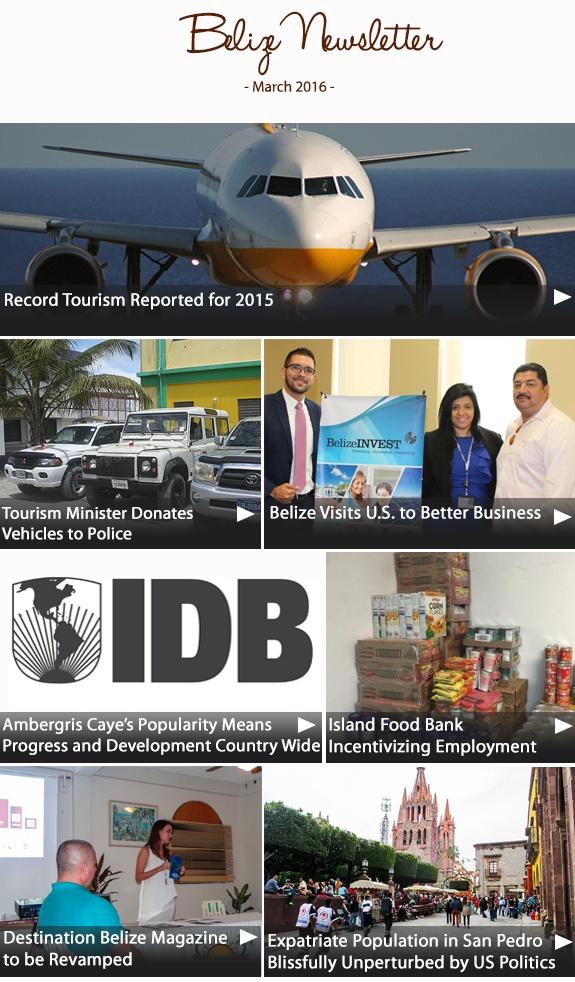 Belize Newsletter March 2016