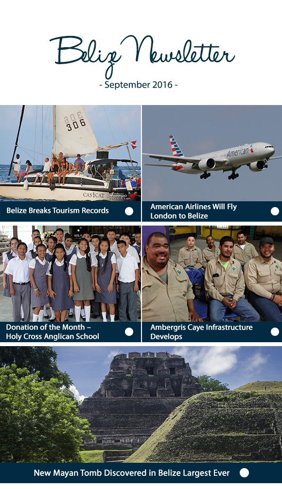 Belize Newsletter August 2016