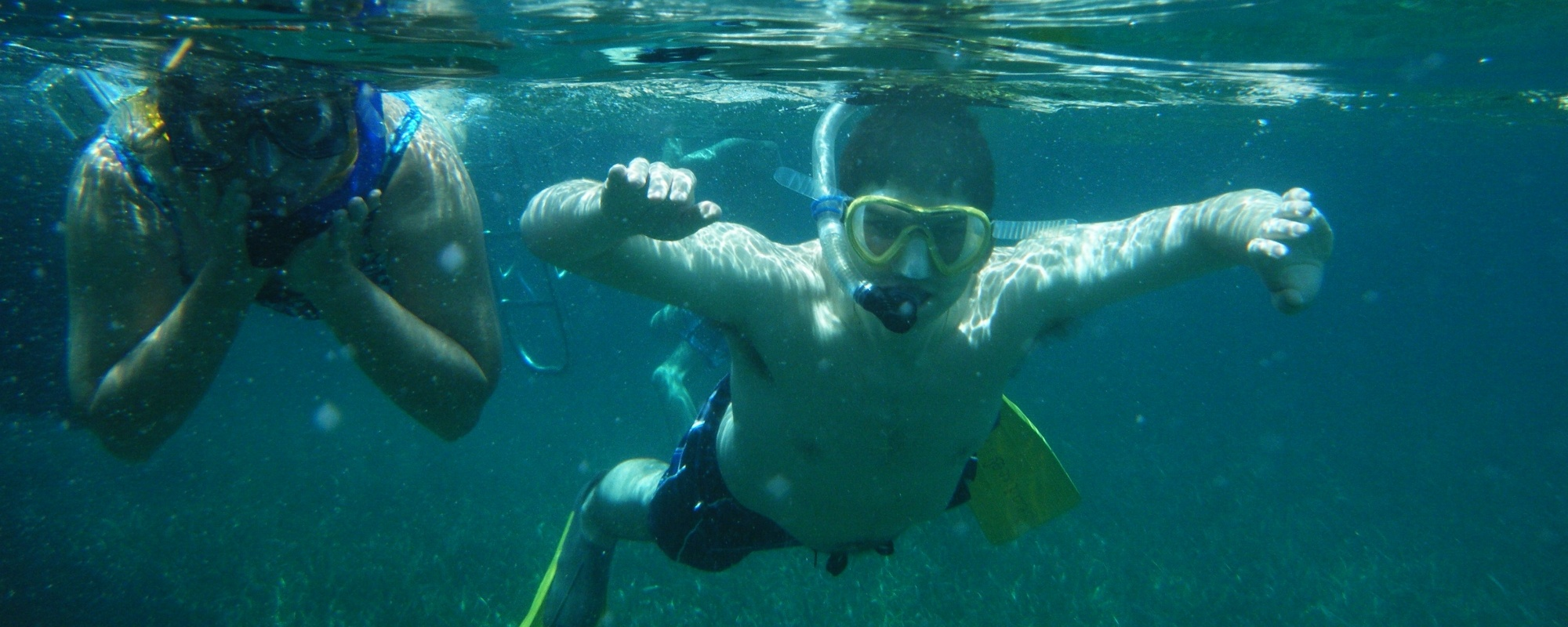 Snorkeling In Belize