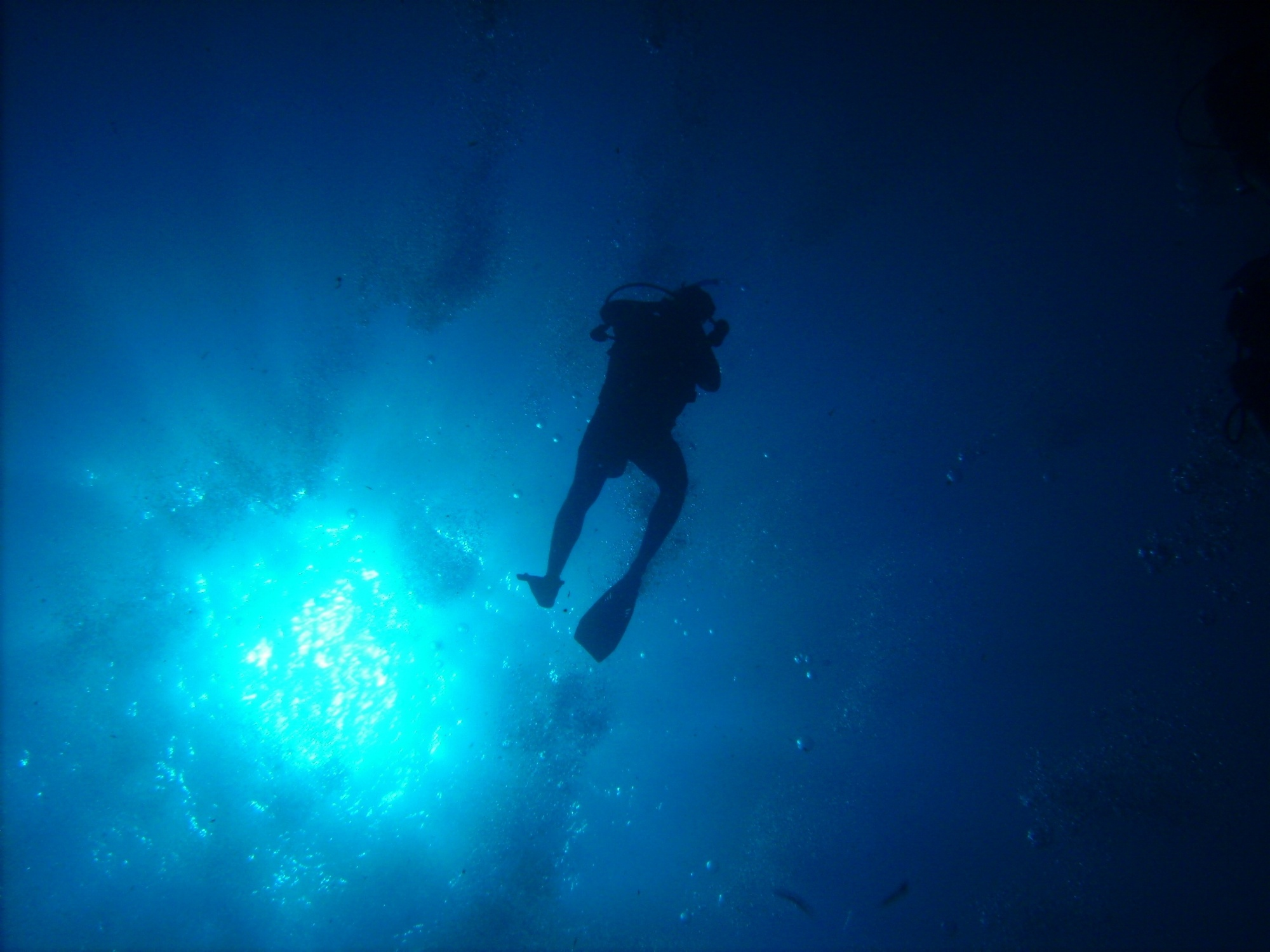 Blue Hole Diver
