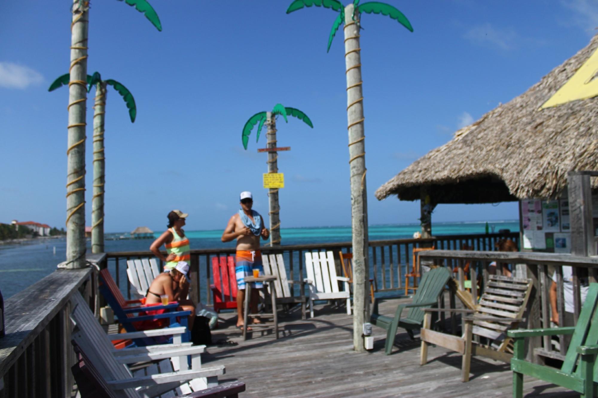Enjoying Ambergris Caye