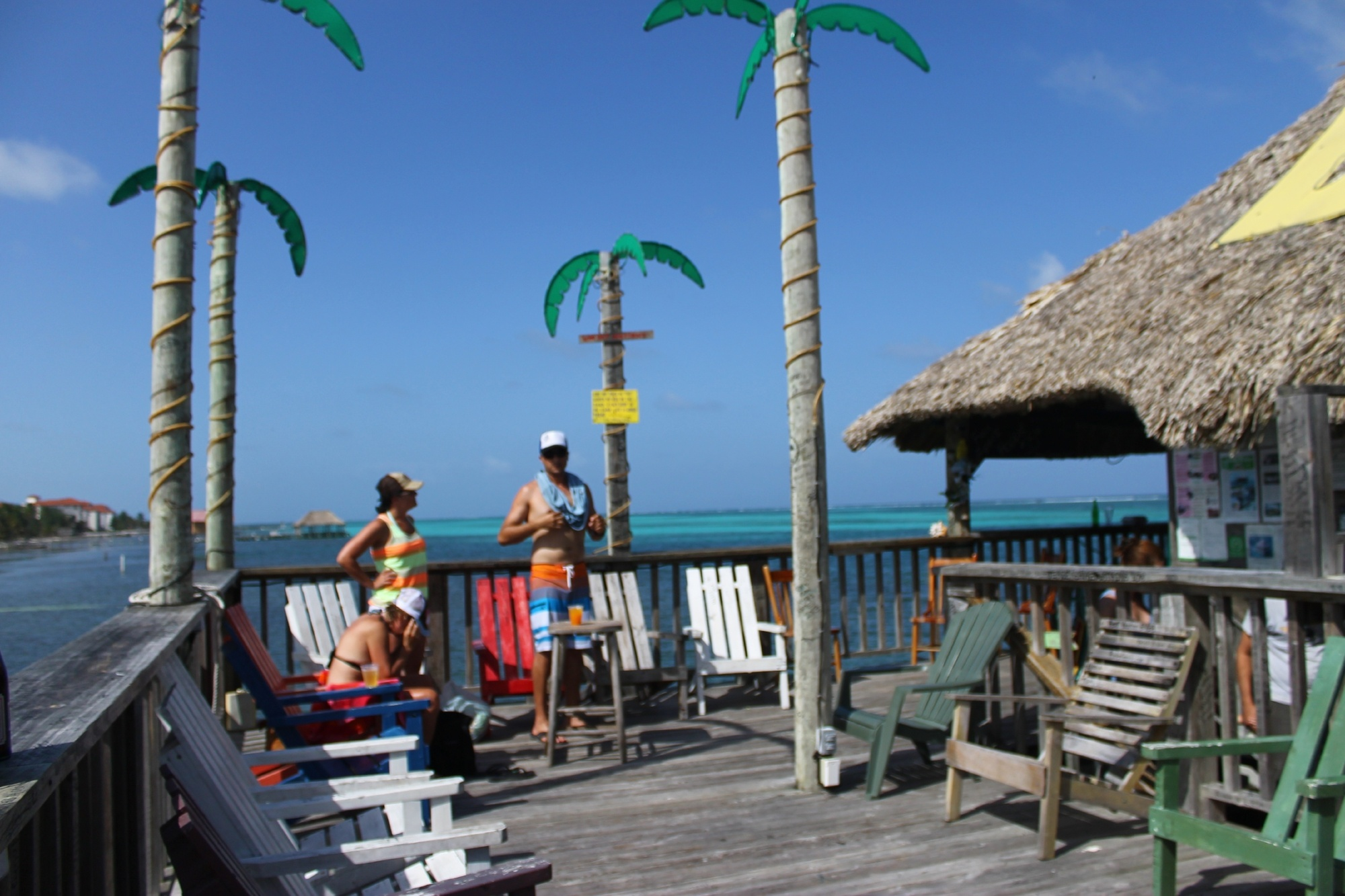 Enjoying Ambergris Caye
