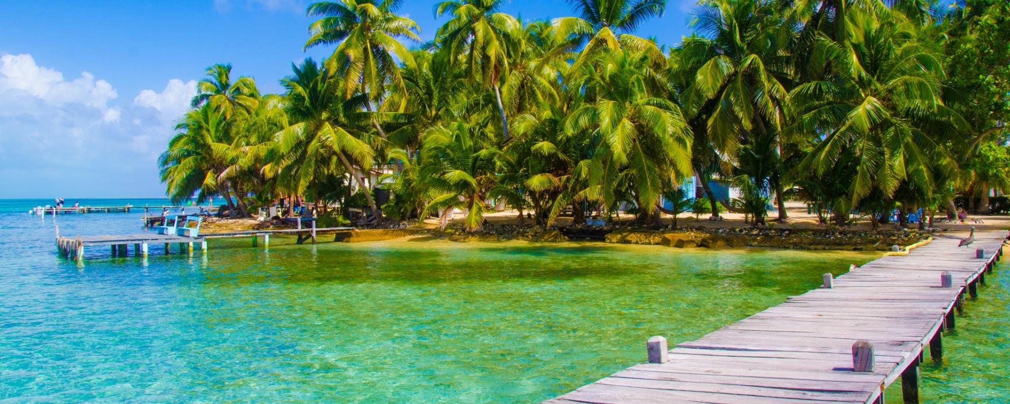 Dock in Belize