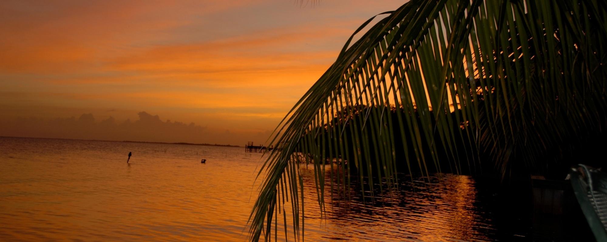 Ambergris Caye Sunset