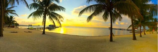 Ambergris Caye Island Beach, Belize